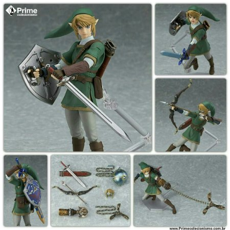 Link The Legend of Zelda Twilight Princess ver. Figma DX Edition Original
