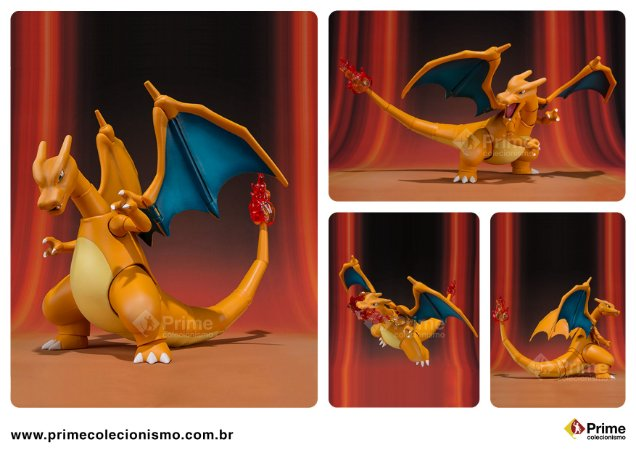 Charizard Pokemon XY & Z S.H. Figuarts Bandai Original