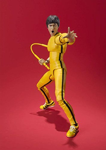Bruce Lee Yellow Track Suit Game of Death S.H.Figuarts Bandai Original