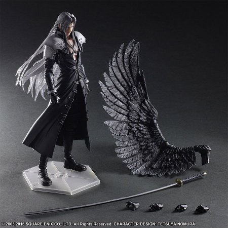 [ENCOMENDA] Sephiroth Final Fantasy VII: Advent Children Square Enix Play Arts Kai Original