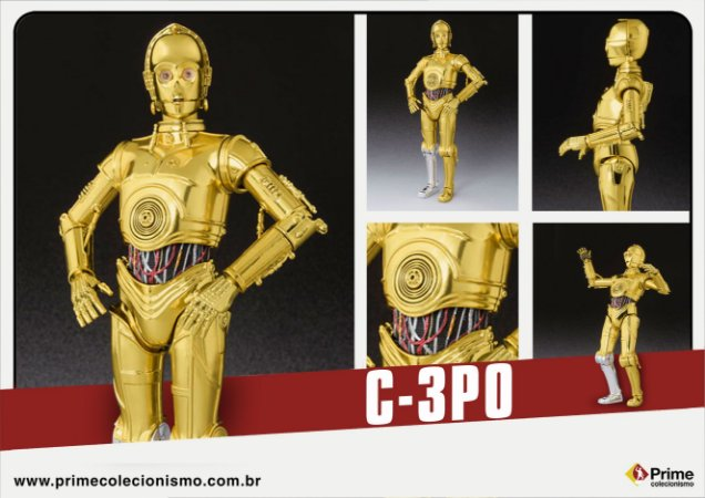C-3PO Star Wars Uma nova esperança S.H. Figuarts Bandai Original