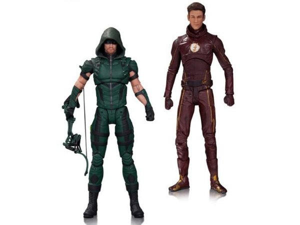 Arrow e Flash The Series DC Collectibles Original