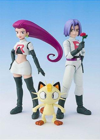Equipe Rocket Pokemon S.H. Figuarts Bandai Original