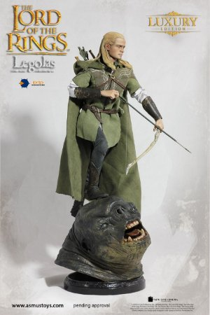 [ENCOMENDA] Legolas The Lord of the Rings Asmus Toys Luxury Edition Original
