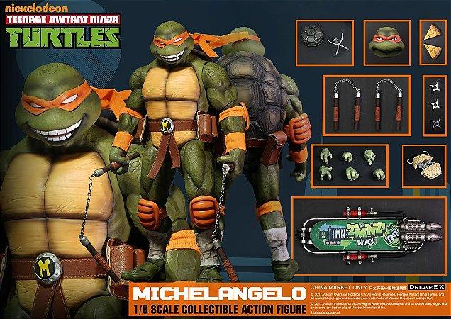 Michelangelo Tartarugas Ninja 1/6 Dreamex Nickelodeon Original