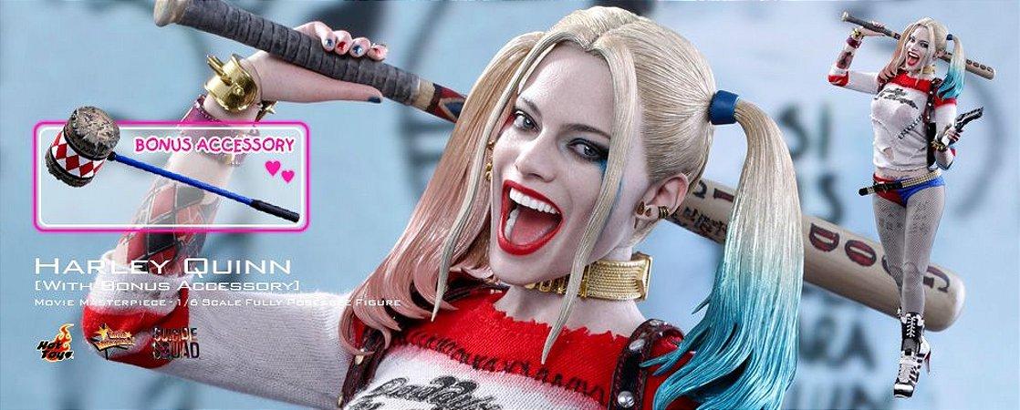 Harley Quinn Esquadrão Suicida Hot Toys Original Versão exclusiva com bonus