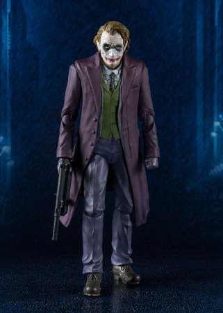 Joker Coringa Batman The Dark Knight S.H. Figuarts Bandai Original