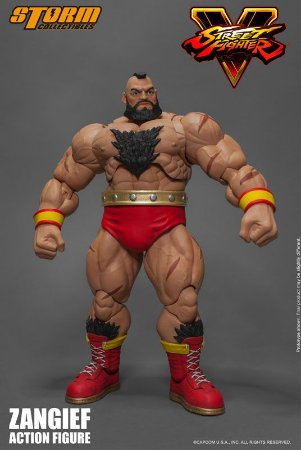 Zangief Street Fighter V Storm Collectibles Original