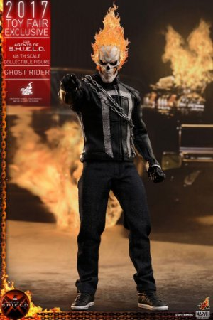 Ghost Rider Agents of  SHIELD Television Masterpiece Hot Toys Toy Fair Exclusive Original