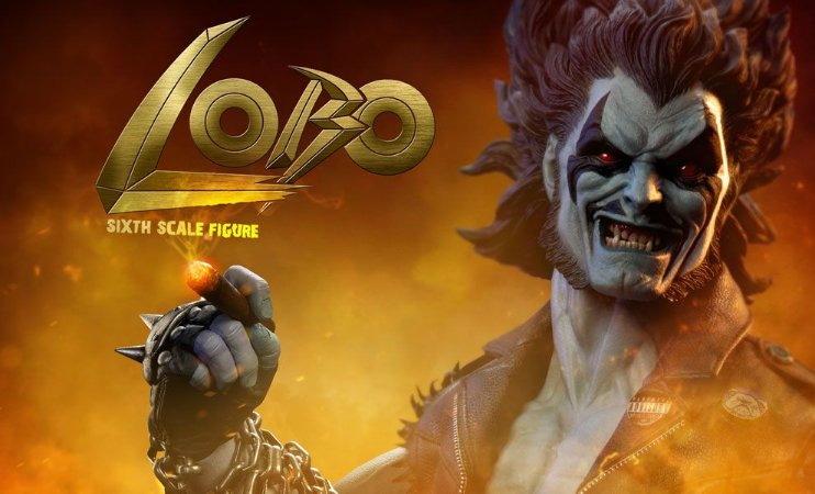 [ENCOMENDA][EXCLUSIVO] Lobo DC Comics Sideshow Collectibles Original
