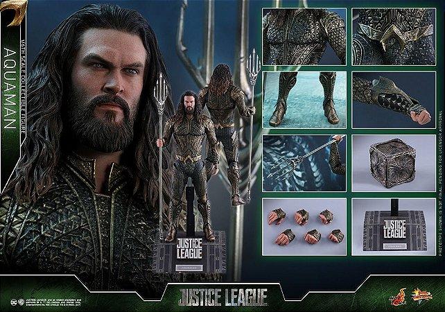 Aquaman Liga da Justiça DC Comics Movie Masterpiece Hot Toys Original