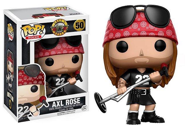 Axl Gun's N Roses Pop! Rocks Funko Original