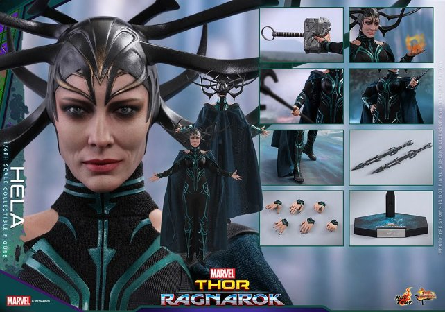 Hela Thor Ragnarok Marvel Studio Movie Masterpiece Hot Toys Original