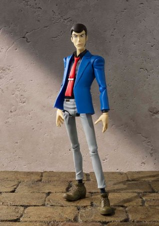 Lupin The Third S.H. Figuarts Bandai Original
