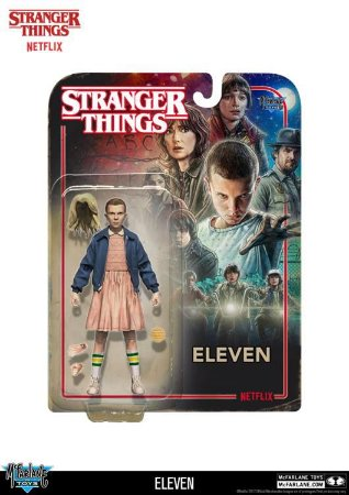 Eleven Stranger Things Color Tops Collector Edition McFarlane Toys Original