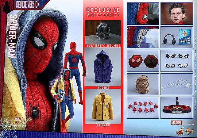 Homem aranha Devolta ao lar Deluxe edition Hot Toys Original