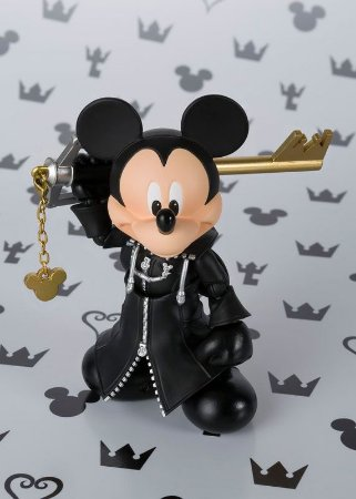 King Mickey Kingdom Hearts II S.H. Figuarts Bandai Original
