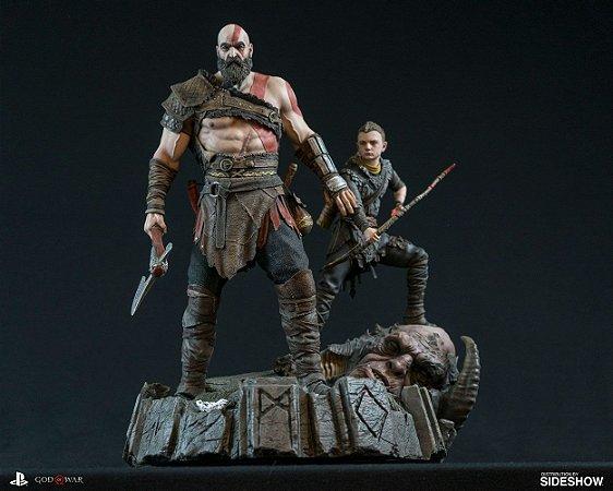 Kratos e Atreus God of War PS4 Sideshow original