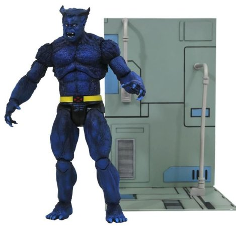 Beast X-Men Marvel Select Diamond Select Toys Original