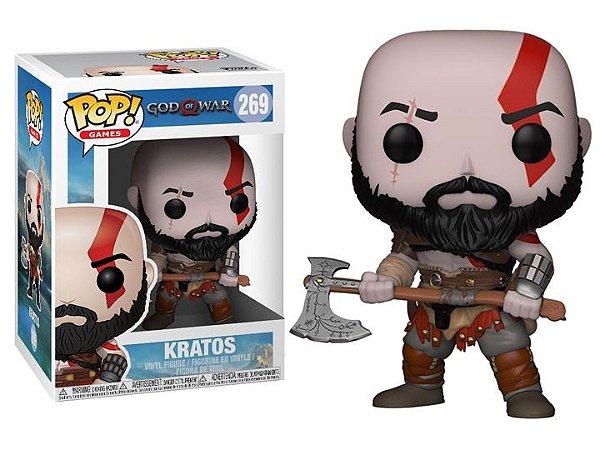 Kratos God of War 4 Funko Pop Games Original