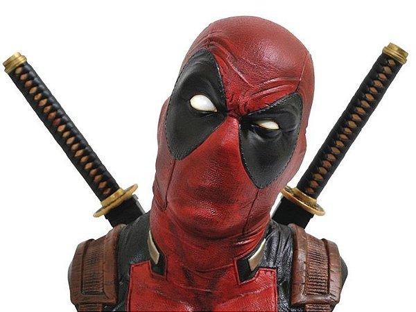 Deadpool Busto 1/2 Marvel Legendary Diamond Select Toys Original