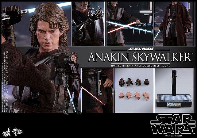 Anakin Skywalker Star Wars Episode III Revenge of Sith Hot toys Original