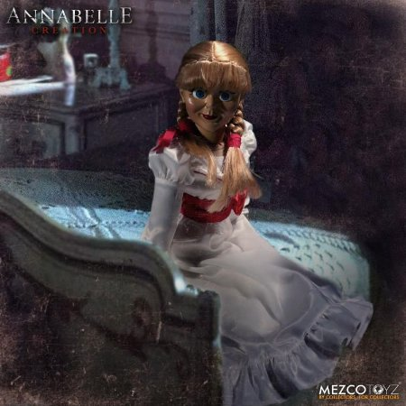 Annabelle Creation The Conjuring Prop Replica Doll Mezco Toyz Original