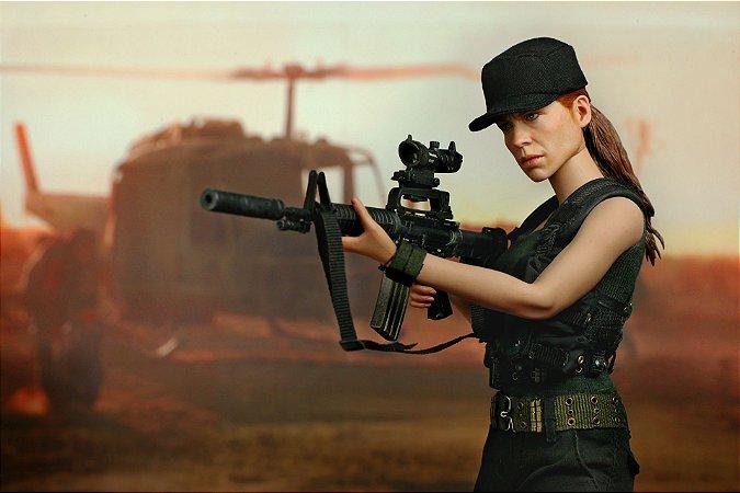 Sarah Connor Exterminador do Futuro 2 Movie Masterpieces Hot Toys Original
