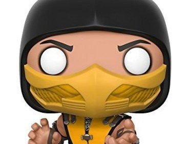 Scorpion Mortal Kombat X Pop! Games Funko Original