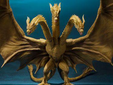 Ghidora (2019) Godzilla King Of The Monsters S.H. MonsterArts Bandai Original