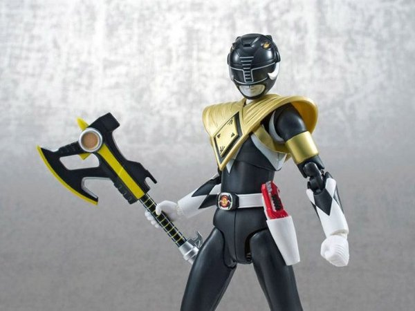 [SDCC 2014 Exclusivo] Ranger Preto Blindado Power Rangers Mighty Morphin S.H.Figuarts Bandai Original