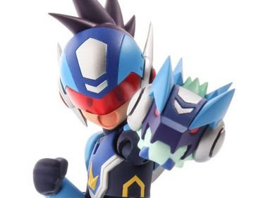 Geo Stelar Mega Man Star Force 4 Inch Nel Sentinel Original