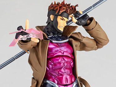 Gambit X-Men Marvel Comics Figure Complex Amazing Yamaguchi No.012 Revoltech Kaiyodo Original