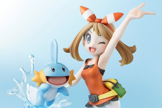May com Mudkip Pokemon ARTFX J Kotobukiya Original