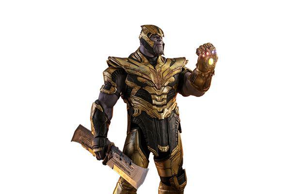 Thanos Vingadores Ultimato Marvel Movie Masterpieces Hot Toys Original