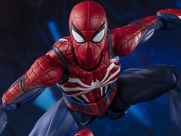 Homem Aranha Traje Avançado Marvel Gamerverse S.H. Figuarts Bandai Original