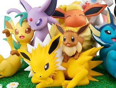 Eevee & amigos Pokémon G.E.M. EX Series Megahouse original