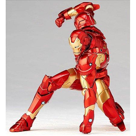 Homem de Ferro Marvel Comics Figure Complex Amazing Yamaguchi No.013 Revoltech Kaiyodo Original