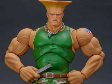 Guile Street Fighter II Ultra Storm Collectibles Original
