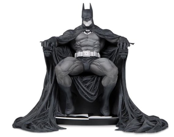 Batman Branco e Preto Marc Silvestri DC Comics DC Collectibles Original
