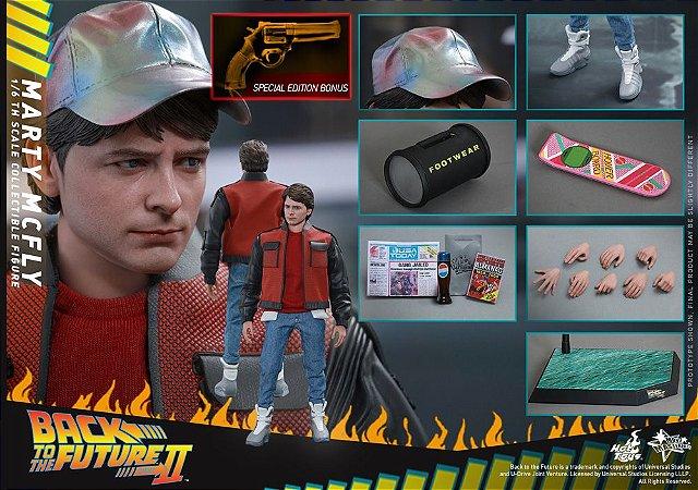 Marty McFly De volta para o Futuro II Movie Masterpiece Hot Toys Original