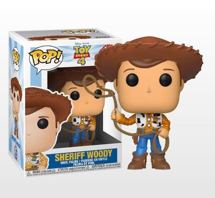Woody Toy Story 4 Pop! Funko Original