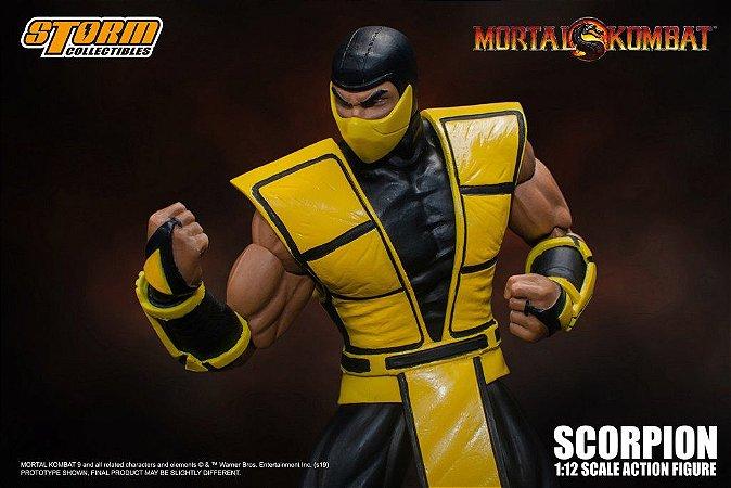 Scorpion versão 2 Mortal kombat Storm Collectibles Original