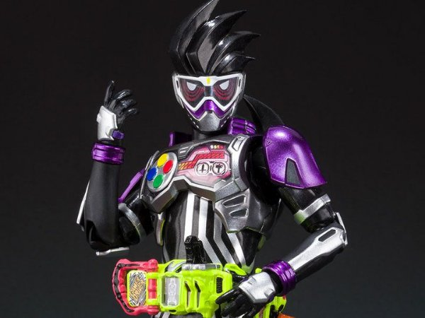 Kamen Rider Genmu Action Gamer Level 0 Kamen Rider Ex-Aid S.H. Figuarts Bandai Original