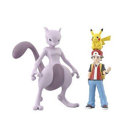 Red e set pokemons Pokemon Scale World Bandai Original