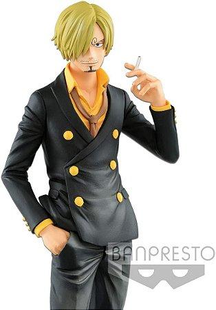 Sanji One Piece The Grandline Men's Grandista Banpresto Original