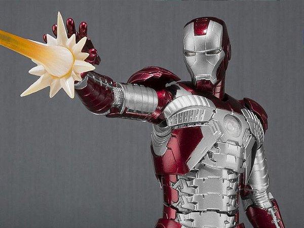 Homem de Ferro Mark V com Hall of Armor Marvel Studios Homem de Ferro 2 S.H. Figuarts Bandai Original