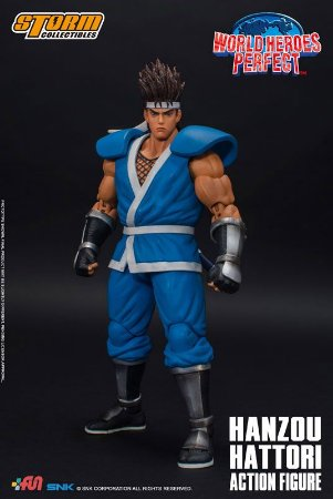 Hanzou Hattori World Heroes Perfect Storm Collectibles Original