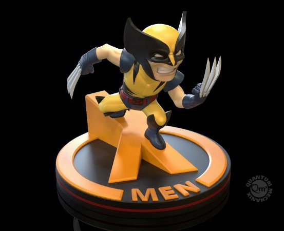 Wolverine Marvel Comics Q-Fig Quantum Mechanix Original