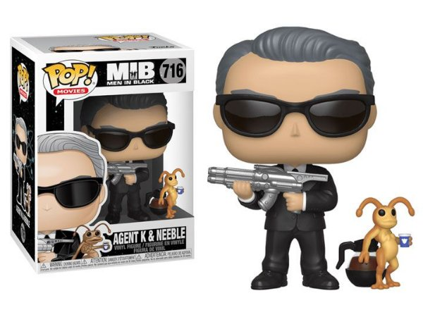 Agente K e Neeble Homens de Preto Pop! Movies Funko original